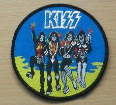 Kiss stara naszywka z lat 80-tych