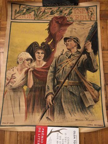 Cartaz Grande Guerra Mundial - 1914