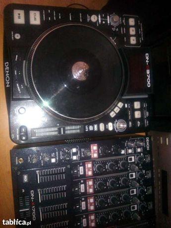 DJ DENON 3700 x 2 Mikser DENON 1700