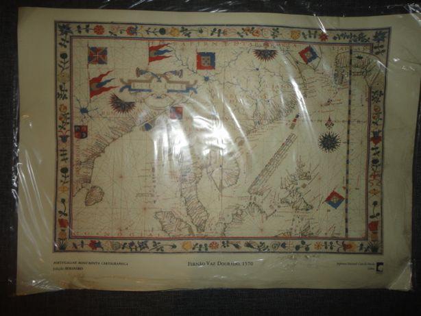 Cartografia Fernão Vaz Dourado 1570 INCM