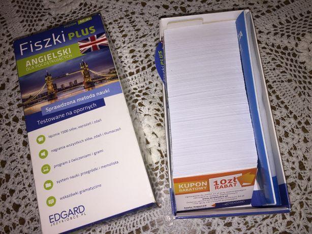 Fiszki plus język angielski edgard