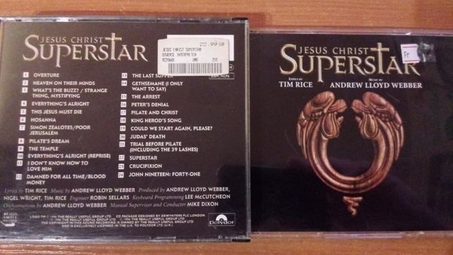 Jesus Christ Superstar - 2cd , UK