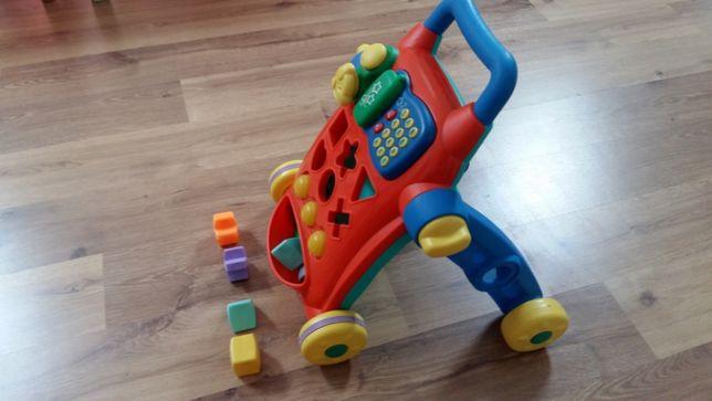 Brinquedo com peças de encaixe