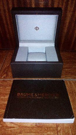 caixa relogio baume & mercier