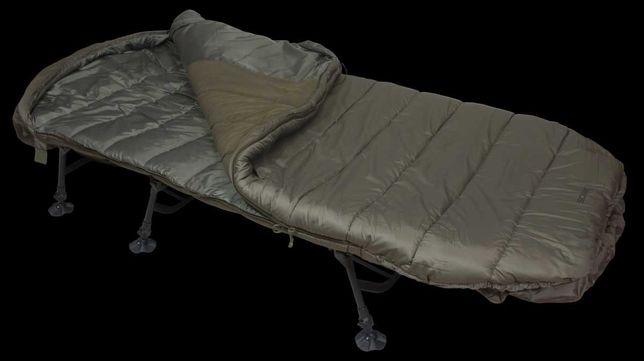 Sonik - SK-TEK SLEEP SYSTEM 5 Season - łóżko karpiowe ze śpiworem
