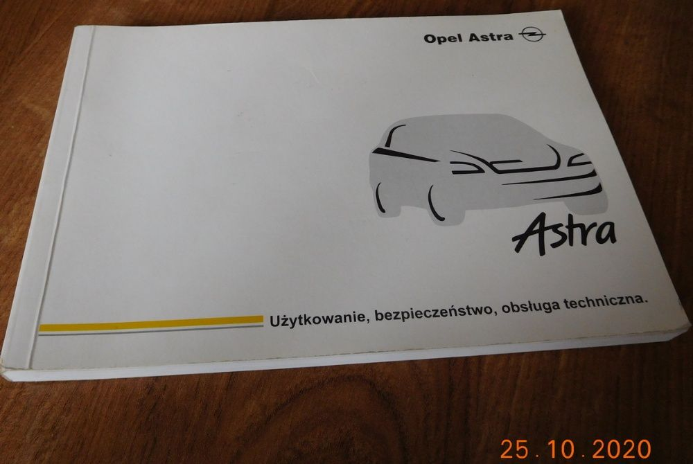 Opel Astra instrukcja obsługi Luzino - image 1