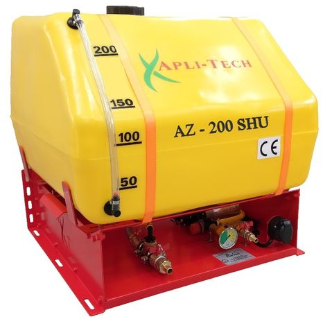 Aplikator zakiszania Pryzma Sieczkarnia AZ-200 SHU 200 ltr CE GW