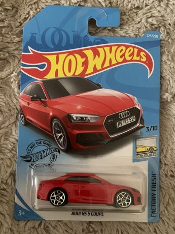 Hot Wheels Audi RS5 - długa karta