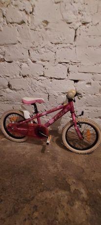 Polecam! Rower dla dziewczynki kola 16