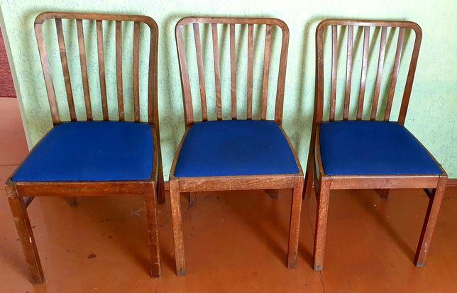 Krzesła PRL 3szt.