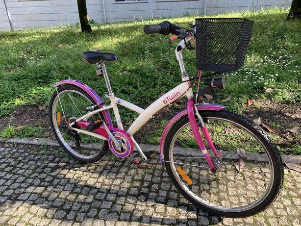 Bicicleta Btwin menina - roda 24