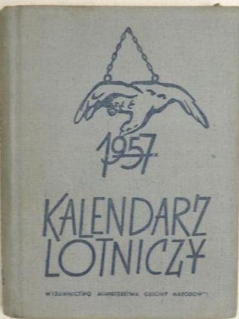 Kalendarz lotniczy na rok 1957 -gratka dla kolekcjonerów