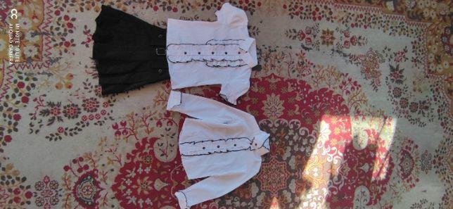 zestaw bluzeczki i spódniczka galowy