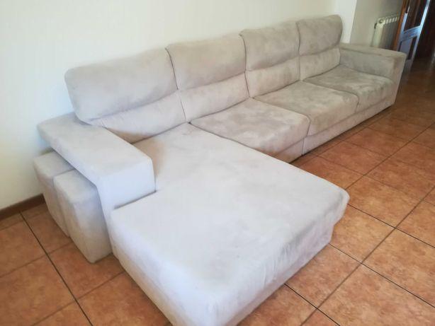 Sofá de tecido lavável