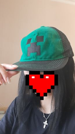 Бейсболка, кепка Minecraft