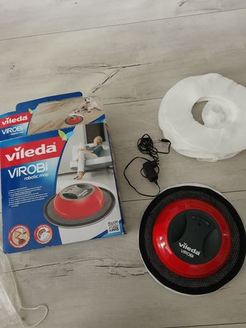 Robot, mop  sprzątający Virobi Vileda plus 40 nakładek