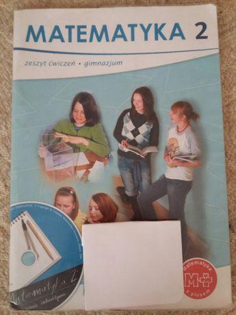 Matemtyka 2, zeszyt ćwiczeń dla gimnazjum, uzupełnione