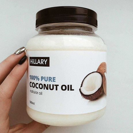 Кокосовое масло рафинированное Hillary