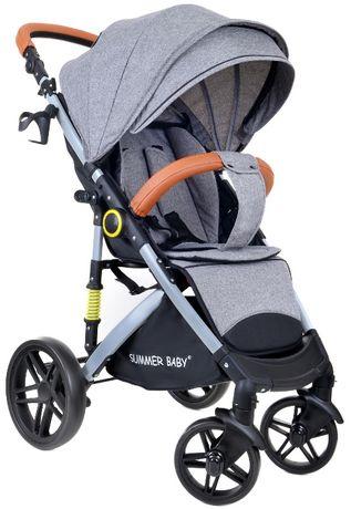 ! Wózek Spacerowy Summer Baby SEMPRE + Torba + Ocieplacz + Folia