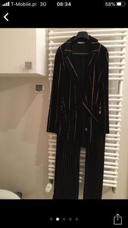 Ekskluzywna piżama Podomka Zara koszula i spodnie M
