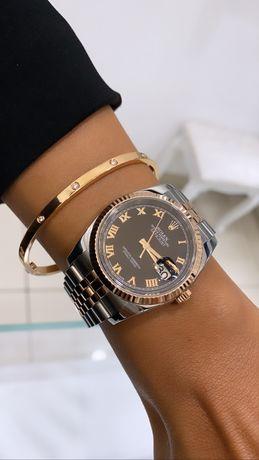 Zegarek Rolex Datejust 36 mm różowe złoto