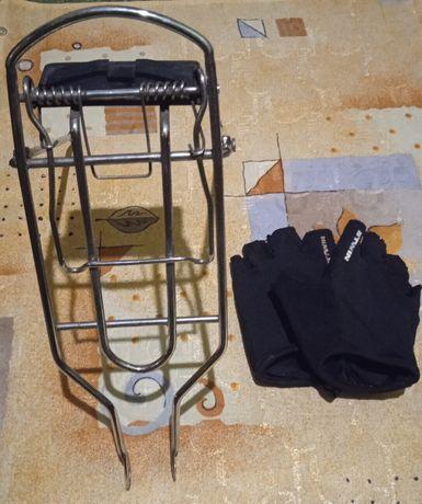 Bagażnik  rowerowy -16 cali, rękawiczki w komplecie.