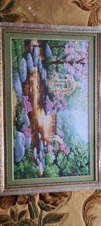 Картина з бісеру Альтанка