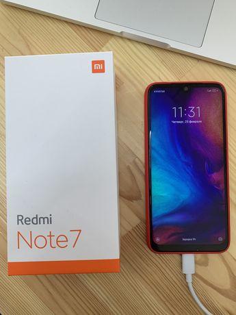 Смартфон Xiaomi Redmi Note 7 4/64GB Чехол в подарок