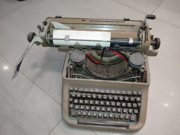 Maszyna do pisania stara Optima PRL