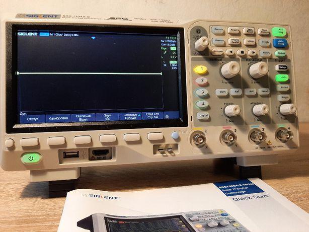 Siglent SDS1104X-E цифровой 4 канальный осциллограф