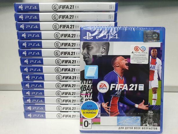 Игра FIFA 21 для Sony PlayStation 4 ПС4 RUS в наличии!!!