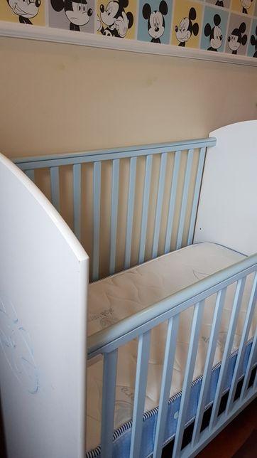 Cama de grades Bebê Criança + colchão