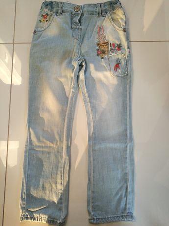 Piękne spodnie marki Next dla dziewczynki! 110 cm