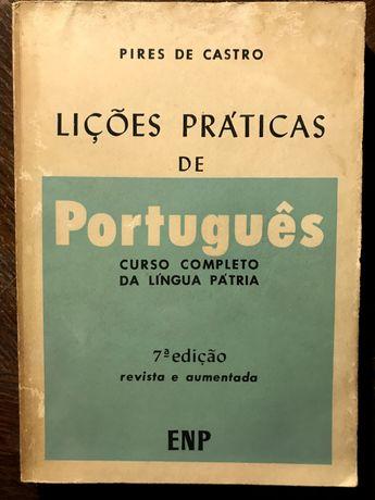 Lições Práticas de Português de Pires de Castro