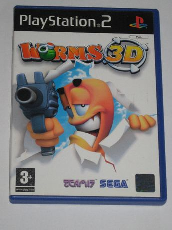 Gra WORMS 3D 3xA BDB PS2 Play Station 2