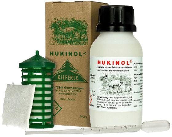 Hukinol 500ml najlepszy odstraszacz - dziki sarny jelenie lisy i inne