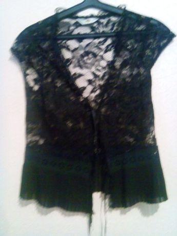 тонкая легкая нарядная блуза на завязках фирмы Sagaie(франция)