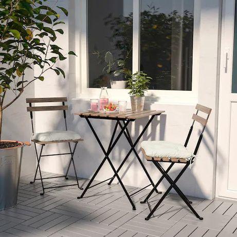 Vende se mesa e duas cadeiras de exterior