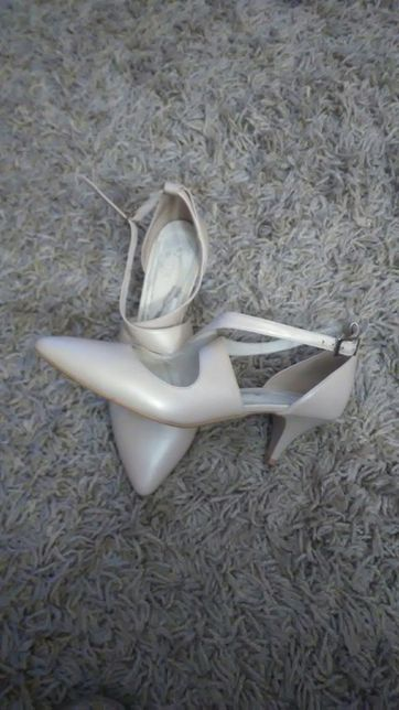 Buty ślubne 39