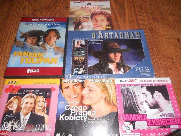 Płyty z filmami