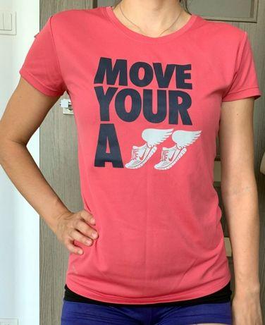 NIKE Dri Fit Running / koszulka top t-shirt fitness / 36 S