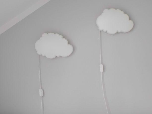 Lampki Led chmurki IKEA