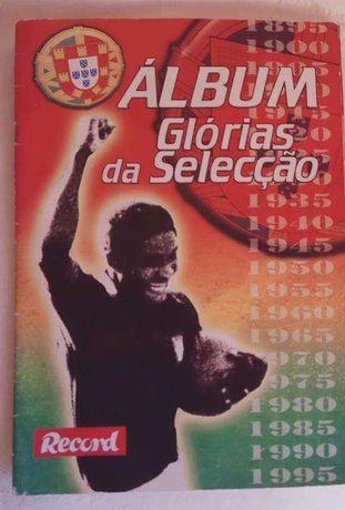 Album Glorias da Seleção Portuguesa - Record