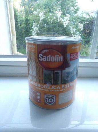 Sadolin Lakierobejca Extra-Bialy Kremowy 99. 0.75 litra