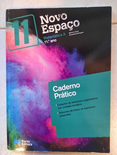 Novo Espaço matemática A 11°ano caderno pratico
