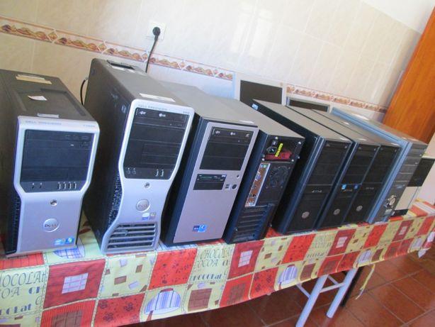 Computadores Torre formatados e com Windows10 já instalado.