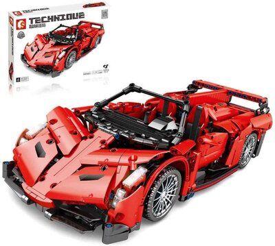 Конструктор 701942 Гоночный lego лего Lamborghini Poison 1213 деталей