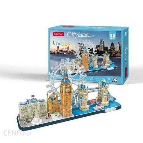 Nowe puzzle 3D Londyn