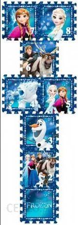 Mata piankowa-puzzle-gra w klasy - Frozen Disney TAT-FR8D.2 10m+
