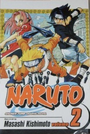 Manga Naruto volume 2 versao português